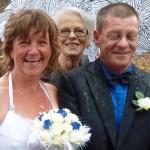 A Joyous Wedding for Liz and Jim